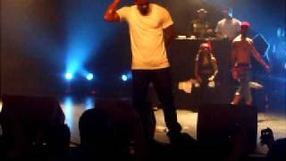 game live in dublin rapping higher and put you on the game