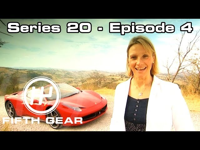 Vicki test drives the Ferrari 458 Spider