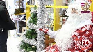 Всех посетителей Центрального рынка встретит Дед мороз