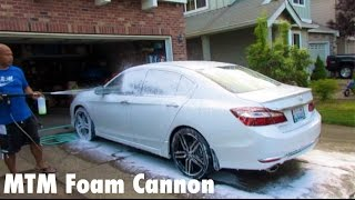 MTM Foam Cannon Snow Suds!!
