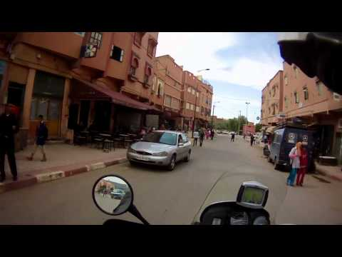 From Agadir to Ouzoud passing Essaouira,Marrakech,Morocco Challenge 2011.wmv