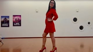 How To Walk Like a Lady (Before / After Video)