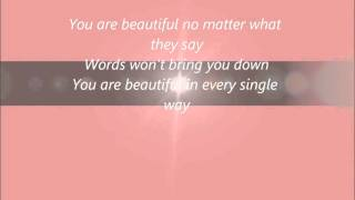 Beatiful Christina Aguilera letra lyrcis