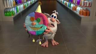Буба - Серия #16 - Жвачка 🍿 - Весёлые мультики для детей - Буба МультТВ