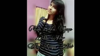 Tum aa gaye ho nur agya hai (recreated )। Ayushi Katakwar।