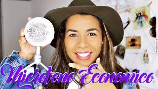 Blue Microphone Snowball iCE RESEÑA + TEST | Micrófono ECONOMICO para Youtubers| Simplemente Leidy