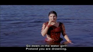 Rambha Purposely jumps in the Water and Pretends as if she is Drowning (Bandhan)