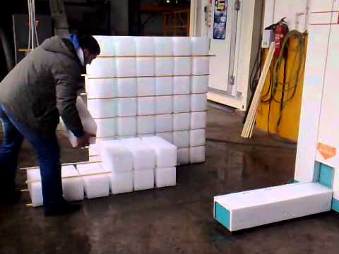 Block Ice Maker Stacking