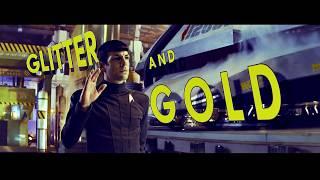 STAR TREK    TRIUMVIRATE    GLITTER AND GOLD