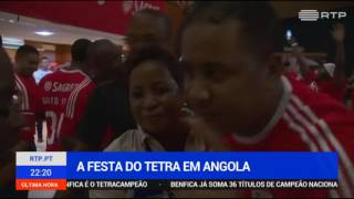 Festa tetra Luanda - imagens RTP