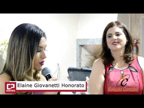 Equipe Solução Contábil homenageia a Contadora Elaine Giovanetti - Cidade Portal