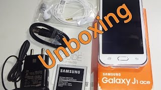Samsung Galaxy J1 Ace 4G Unboxing width=