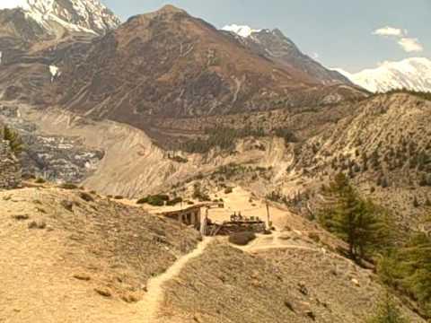 Nepal Annapurna Circuit Trek Video Day 8