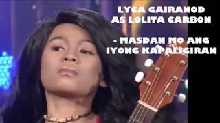 LYCA GAIRANOD BILANG SI LOLITA CARBON -  JUST A PURE VOICE