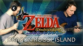 Zelda: Wind Waker Guitar & Drum Cover - Dragon Roost Island | The Brotons