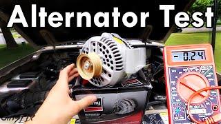 How to Test an Alternator width=