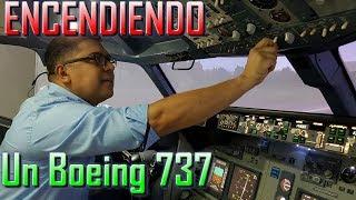 """""""COMO SE ENCIENDE UN BOEING 737"""". (#112)"""