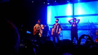 """Emblem3 performing """"7 Years Old"""" live @ the Fillmore in San Francisco June 14, 2016"""