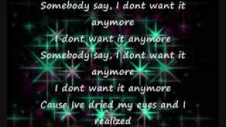 Not Anymore - Letoya Luckett w/ lyrics