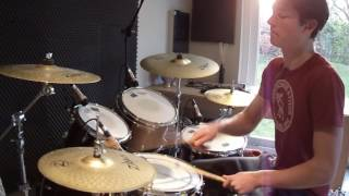 Mura Masa - Lovesick (ft. A$AP Rocky) - Drum tutorial of my cover
