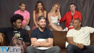 'Arrow' Cast Talks Season 7, Jaw-Dropping Premiere Moment | Comic-Con 2018 | TVLine