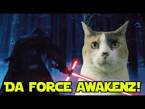 Creationist Cat Reacts To THE FORCE AWAKENS!
