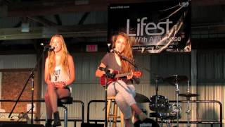 Count on Me (LIVE cover) Bruno Mars- Carly & Sarah