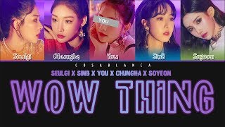 STATION X 0 – Wow Thing [5 Members ver.] + You as member (Color Coded Lyrics Han|Rom|Eng)