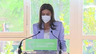 """La Reina en el acto conmemorativo digital del """"Día Mundial de la investigación en Cáncer (WCRD)"""""""