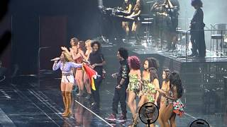 Beyonce Closing Crew Intro O2 Arena London 01.05.13