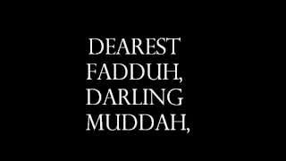 Hello Muddah, Hello Faddah Lyrics