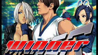 The King of Fighters: Neowave (PlayStation 2) Team Play as Special Team (Kim, Angel & May Lee)