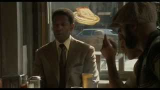 Best scene in American Gangster. Frank kills Tango (headshot).