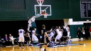 Mackenzie John Carroll/Mount St. Joseph basketball BCL semifinals 2/24/13