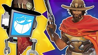 """MCCREE SONG (Overwatch) ► Fandroid #3 """"It's High Noon"""""""