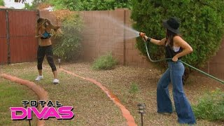 Nikki Bella tries to convince Brie Bella to agree to an endorsement deal: Total Divas, Feb. 2, 2016 width=