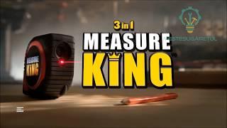 Cea mai tare ruleta! 3-in-1 gata pentru orice masuratoare! Measure King