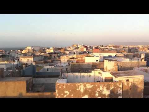 Essaouira, Morocco close to sunset