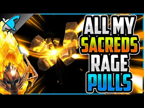 *RAGE PULL* ALL My Sacred Shards !! | 2X Event Highlights ! | RAID: Shadow Legends