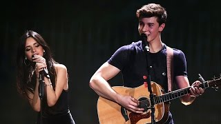 "Camila Cabello & Shawn Mendes Cover Ed Sheeran's ""Kiss Me"""