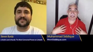 Learn the Secrets of Connecting from The Most Connected Person on Linkedin, Steven Burda width=