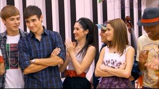 Violetta 1 - León y Violetta son elegidos como protagonistas para el show de fin de curso (01x72)