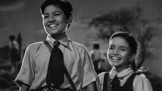Tu Badhta Chal - Boot Polish (1954) - Video Song width=