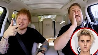 'Carpool Karaoke': Ed Sheeran Talks Justin Bieber Sings One Direction and Reveals Hidden Talent!