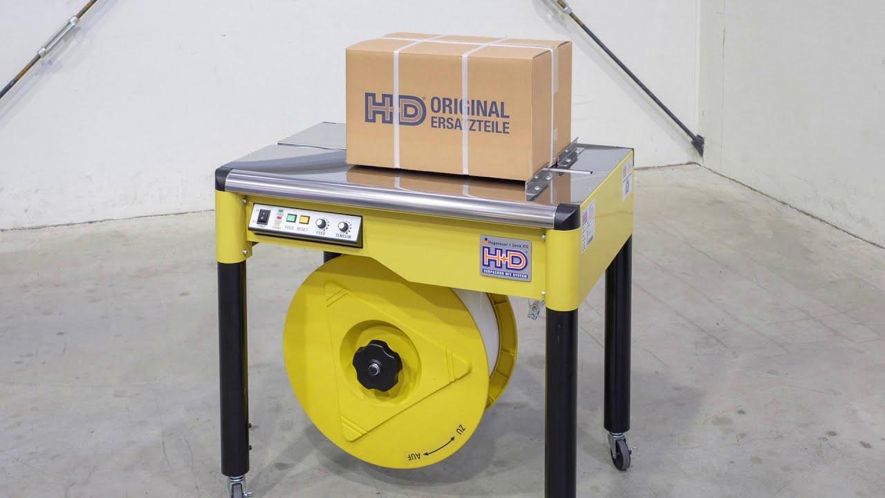 HDS-25 Halbautomatische Umreifungsmaschine