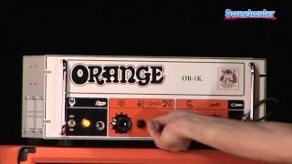 Orange OB1K Bass Amplifier Demo - Sweetwater Sound