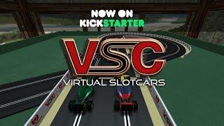 Virtual SlotCars (VSC) KickStarter Trailer