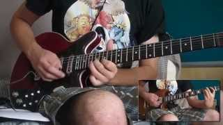 Breakthru - Queen/Brian May - Guitar Solo Cover