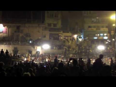 Ganges River Night Festival, India