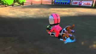 Mario Kart 8 Time Trial - Moo Moo Meadows [Wii]